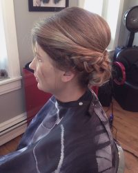 Professional Updo Hair