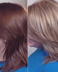 Hair Before and After - York Salon