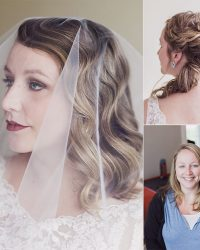 Wedding Hair Down and Wedding Hair Up Styles