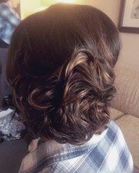 Loose Updo Hair Style Salon in York