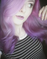 Purple Hair Coloring in York, PA