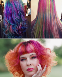 Rainbow Hair Coloring York, PA