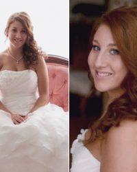 Wavy Red Wedding Hair York, PA Wedding Salonn