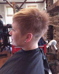 Women's Spikey Hair Cut - York PA Salon