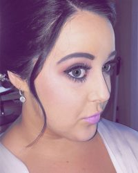 Black Hair with Pink Makeup York, PA